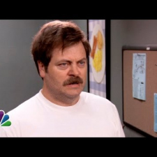 Parks and Recreation - The Many Emotions of Ron Swanson