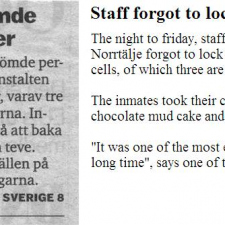 The difference between Swedes and the rest of the world
