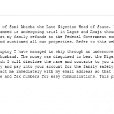A reddit user decides to respond to a Nigerian scam email. Hilarity ensues.