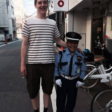 So my 6'6 boyfriend is in Japan...