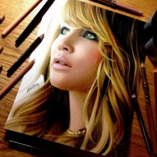 Drawing Jennifer Lawrence