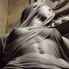 'Modesty' by Antonio Corradini (1751)