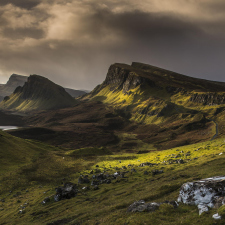 Isle of Skye, the Largest Island in Scotland.