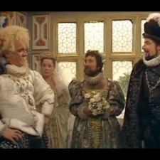 Blackadder - Lord Flashheart's Grand Entrance
