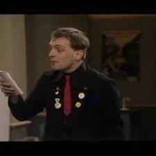 The Young Ones - Rick reciting the Cliff Poem