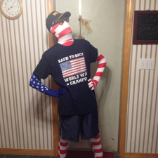 It was America day at school yesterday, guess who won