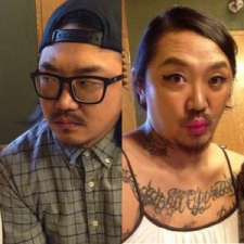 Korean Swingers Couple