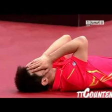 Amazing Table Tennis Shots 2011