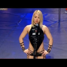 Ukraine Got Talent - The world's best pole dancer - Anastasia Sokolova