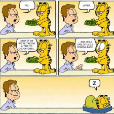 Garfield - Do you want some?