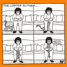 The laptop slither