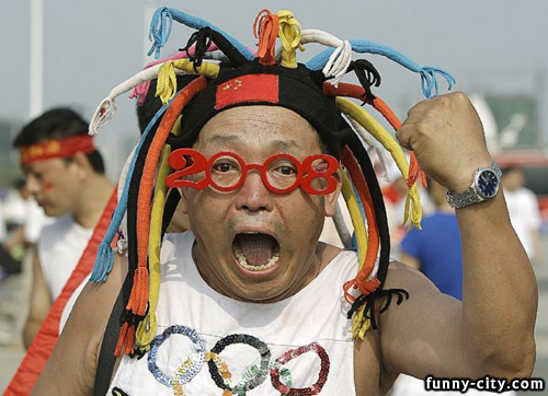 <p>Funny people from Beijing Olympic Games.</p>