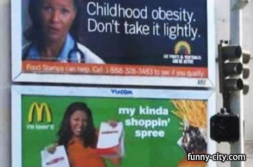 <p>If they want to convince people maybe they should be more careful at choosing ads!</p>