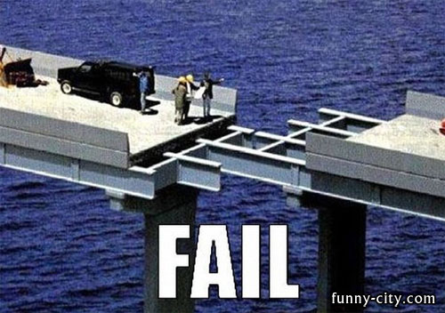 "<p>For a civil engineer, there's no such thing as a ""little mistake"".</p>"